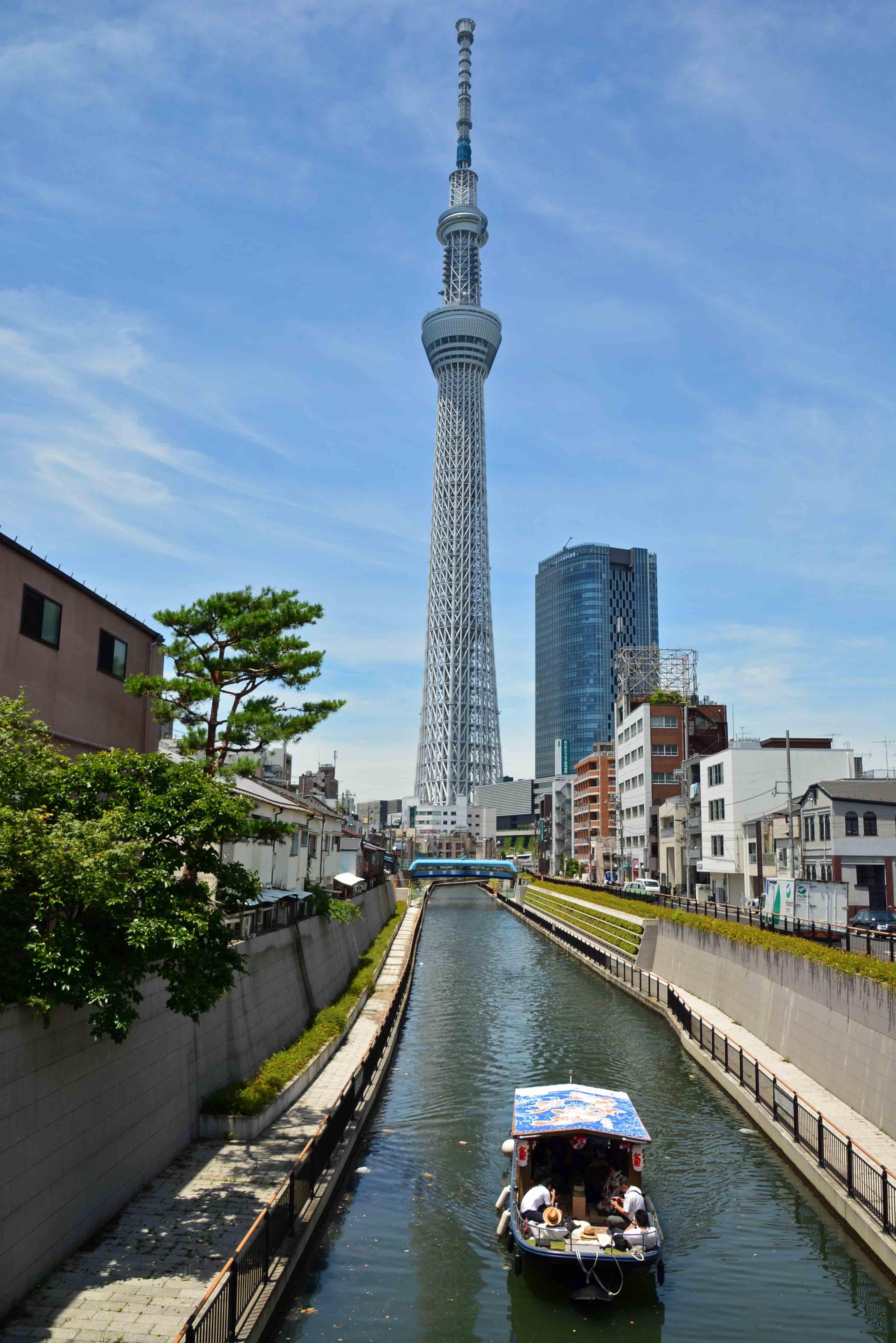 北十間川と東京スカイツリー
